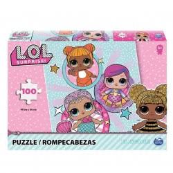 Spin Master L.O.L. Surprise Παζλ Με 4 Κορίτσια Ή Με 6 Κορίτσια 100Τμχ. - 2 Σχέδια 20114665 778988262696