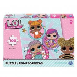 Spin Master L.O.L. Surprise Puzzle With 4 Girls Or 6 Girls 100 Pieces - 2 Designs 20114665 778988262696