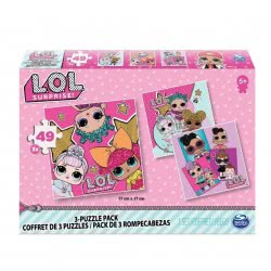 Spin Master L.O.L. Surprise 3 Classic Puzzle 49 Pieces 20114662 778988262665