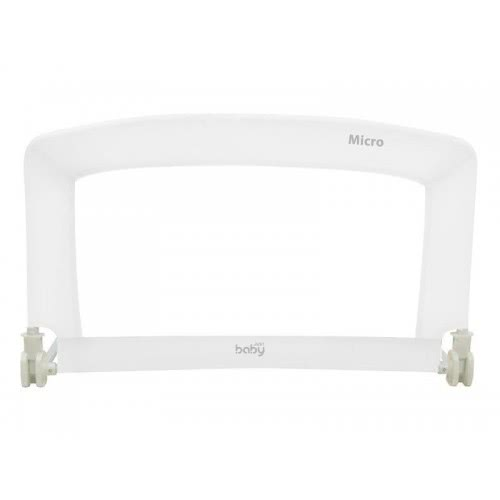 just baby Μπαριέρα Κρεβατιού 90Cm Micro White - Λευκή JB-9100-WHITE 9181391001690