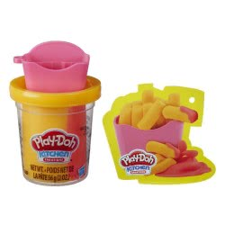 Hasbro Play-Doh Mini Creations French Fries (Τηγανιτές Πατάτες) E7474 / E7478 5010993626014