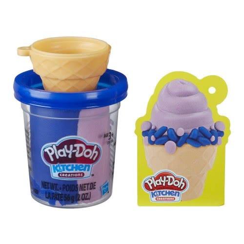 Hasbro Play-Doh Mini Creations Ice Cream Cone (Χωνάκι Παγωτό) E7474 / E7481 5010993626038