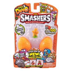 ZURU Smashers Smash Ball Series 3 Dino 3 Pack 23553 193052001887