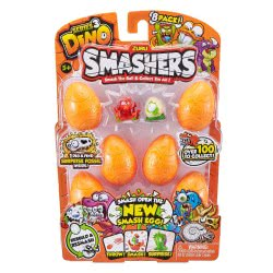 ZURU Smashers Smash Ball Series 3 Dino Συσκευασία Με 8 Δεινοσαυράκια 23554 193052001894