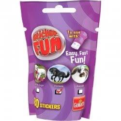 Goliath Sticker Fun Refill Cats And Dogs, Horses Or Animals - Purple 23547 8711808355088