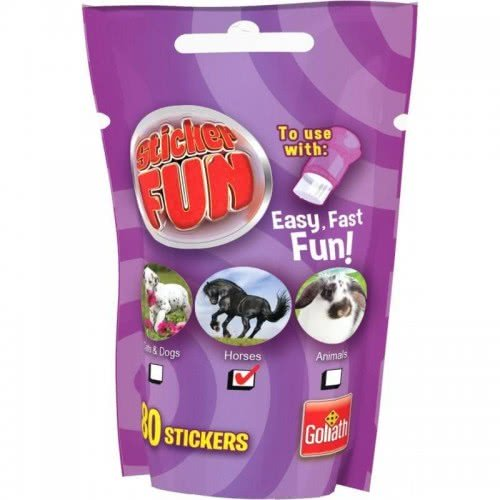 Goliath Sticker Fun Ανταλλακτικό Cats And Dogs, Horses Or Animals - Μωβ 23547 8711808355088
