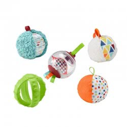 Fisher-Price Μαλακές Μπάλες Δραστηριοτήτων - Five Senses Activity Balls FXC32 887961687545
