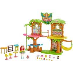 Mattel Enchantimals Junglewood Cafe Μπανανόσπιτο - Καφετέρια GNC57 887961867312