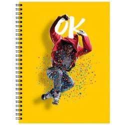 A&G PAPER Boys Spiral Notebook A4 21Χ29.7 Cm 4 Subjects - 5 Designs 032083 5203296320837