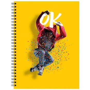 A&G PAPER Boys Spiral Notebook A4 21Χ29.7 Cm 3 Subjects - 5 Designs 032082 5203296320820
