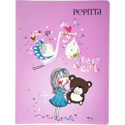 A&G PAPER Pepitta Baby Girl Σούπλ Α4 Αρκουδάκι - Teddy 029003 5205616290035