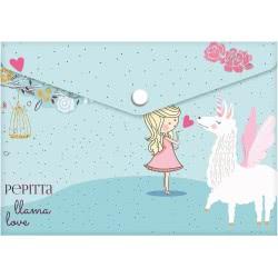 A&G PAPER Pepitta Llama Love Φάκελος Πολυπροπυλενίου A4 Λάμα 032019 5205616320190