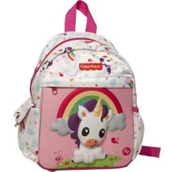 GIM Fisher-Price Unicorn Junior Kindergarten Backpack - Pink 349-04054 5204549123472