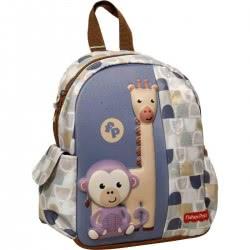 GIM Fisher-Price Giraffe And Monkey Junior Kindergarten Backpack 349-02054 5204549123434