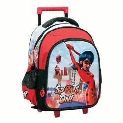 GIM Miraculous Ladybug Super Heroes Σακίδιο Τρόλλεϋ Νηπιαγωγείου 346-03072 5204549122710