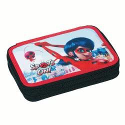 GIM Miraculous Ladybug Super Heroes Spots On Pencil Case Full 346-03100 5204549122949