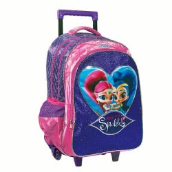GIM Shimmer And Shine Magical Dust And Sparkle Σακίδιο Τρόλλεϋ Δημοτικού 334-46074 5204549123564
