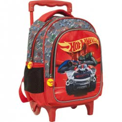 GIM Hot Wheels Kindergarten Trolley Backpack 349-24072 5204549122239