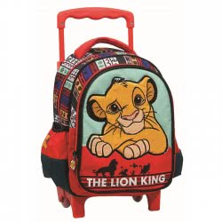 GIM The Lion King Τσάντα Σακίδιο Τρόλλεϋ Νηπιαγωγείου 331-60072 5204549122970