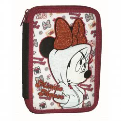 GIM Minnie Mouse Athletic Pencil Case Full Double 340-67100 5204549118317