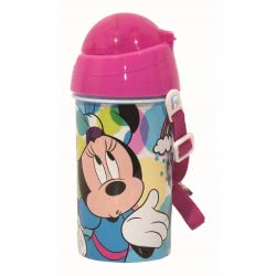 GIM Minnie Mouse Plastic Canteen PP 500 Ml 553-60209 5204549117020