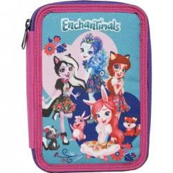 GIM Enchantimals Pencil Case Double Filled 349-90100 5204549123076