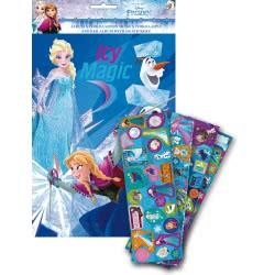 GIM Disney Frozen Sticker Album A4 With 100 Stickers 771-80691 5204549115392