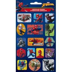 GIM Spiderman Lenticular Stickers 777-51415 5204549115798