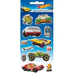 GIM Hot Wheels Foam Stickers Αυτοκόλλητα 779-80438 5204549115460