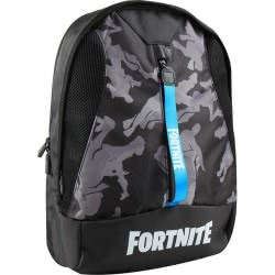 GIM Fortnite Πολυθεσιακή Τσάντα Πλάτης - Μαύρη 300-00050 5411217882641