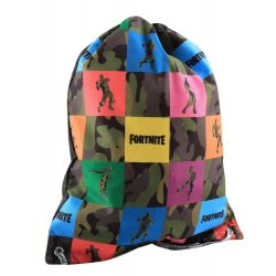 GIM Fortnite Colors Gym Τσάντα Γυμναστηρίου - Πολύχρωμη 300-00062 5411217882801