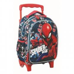 GIM Spiderman All Over Σακίδιο Τρόλλεϋ Νηπιαγωγείου 337-72072 5204549122864