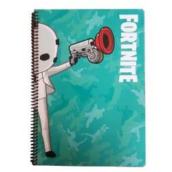 GIM Fortnite Τετράδιο Σπιράλ A4 2 Θεμάτων 70 Φύλλων 300-00060 5411217105962