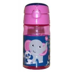 GIM Fisher-Price Elephant And Panda Παγούρι Πλαστικό 350 Ml - Ελέφαντας Και Πάντα 571-45204 5204549117488