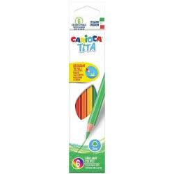 CARIOCA Tita Ξυλομπογιές 6 Χρωμάτων 42792 8003511427924