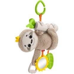 Fisher-Price Stroller Sloth Κρεμαστό Καροτσίου Βραδύπους FXC31 887961687507