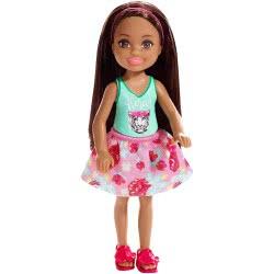 Mattel Barbie Club Chelsea: Brunette Girl With Tiger Blouse DWJ33 / FXG79 887961690972