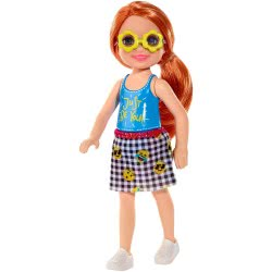 Mattel Barbie Club Chelsea: Redhead With Blouse Just Be You DWJ33 / FXG81 887961691030