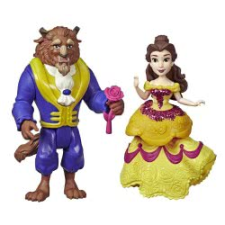 Hasbro Disney Princess Πεντάμορφη Και Τέρας Κούκλες E3051 / E4953 5010993621026