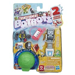 Hasbro Transformers Botbots Toys Series 2 Backpack Bunch Φιγούρες Έκπληξη - 2 Σχέδια E3486 / E4145 5010993601936