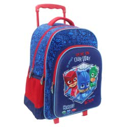 Diakakis imports PJ Masks - Πιτζαμοήρωες We Are On Our Way 3D Σακίδιο Τρόλλεϋ 000484130 5205698423499