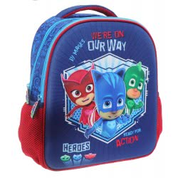 Diakakis imports PJ Masks We Are On Our Way 3D Primary School Backpack 000484125 5205698419133