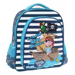 MUST Exploring New Horizons Kindergarten Backpack Pirate - Blue 000579523 5205698423260