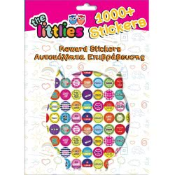 Diakakis imports The Littlies +1000 Reward Stickers 8 Pages 000646650 5205698443565