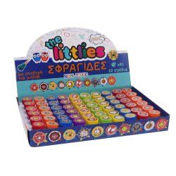 Diakakis imports The Littlies Reward Stamps With Greek Themes 000646531 5205698429583