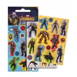 GIM Avengers Laser Stickers Αυτοκόλλητα - Εκδικητές 777-53910 5204549115170