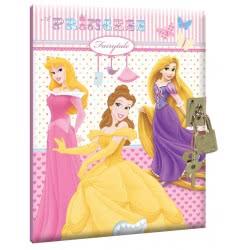 GIM Diary Ημερολόγιο Με Κλειδί Disney Princess 331-39910 5204549044593