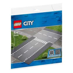 LEGO City Ευθεία Και Διασταύρωση Σχήματος Τ - Straight And T-Junction 60236 5702016369786