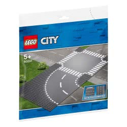 LEGO City Καμπύλη Και Διασταύρωση - Curve And Crossroad 60237 5702016369793
