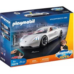 Playmobil The Movie Ο Ρεξ Ντάσερ Με Την Porsche Mission E 70078 4008789700780